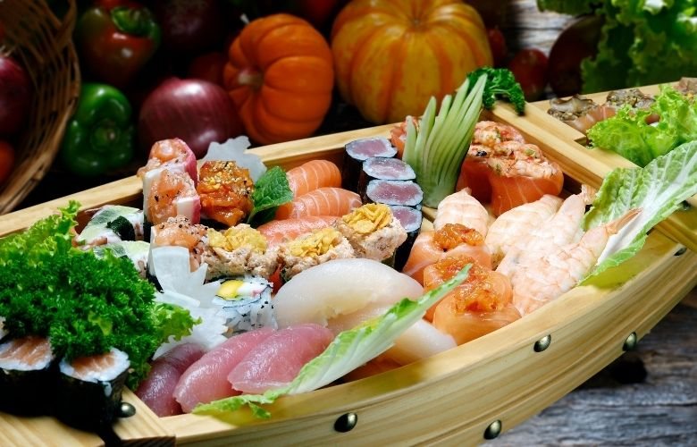 Barco para Sushi   westwing.com.br