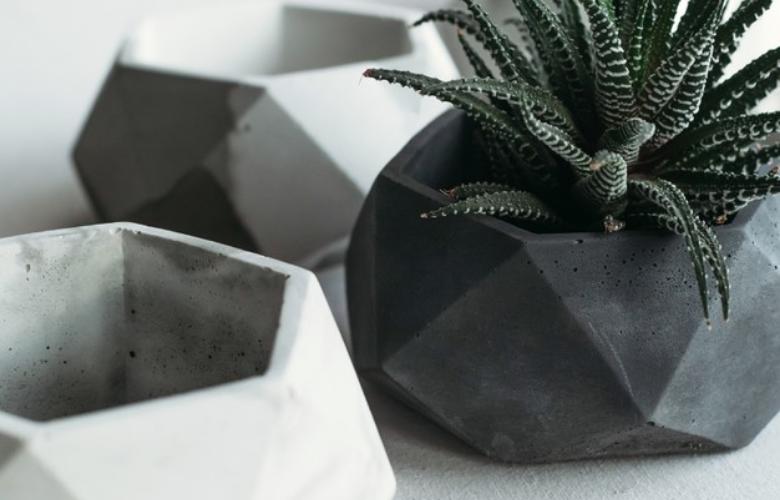 Vasos de Cimento   westwing.com.br