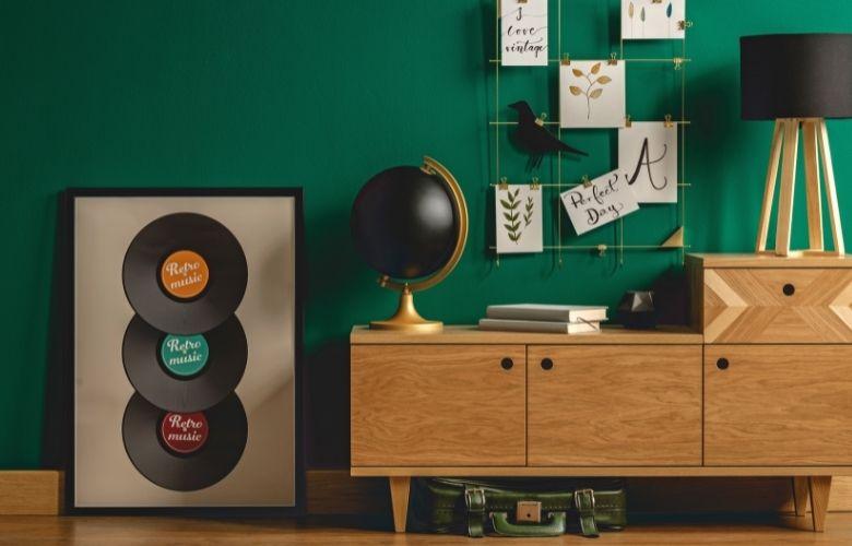 Decoração com Disco de Vinil | westwing.com.br