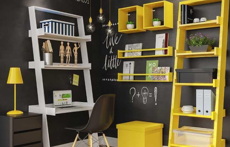 Prateleiras Coloridas   westwing.com.br