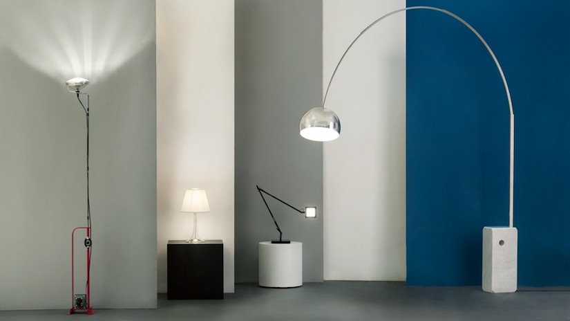 Achille Castiglioni Arco Lamp
