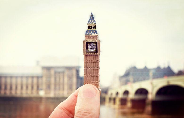 Miniatura Big Ben   westwing.com.br