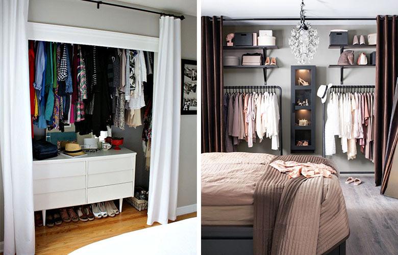 Closet com Cortina | westwing.com.br