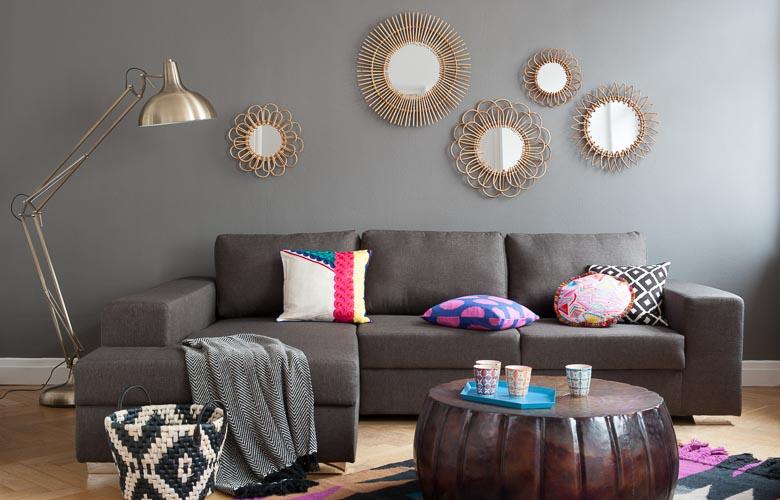 Espelho na Sala de Estar | westwing.com.br