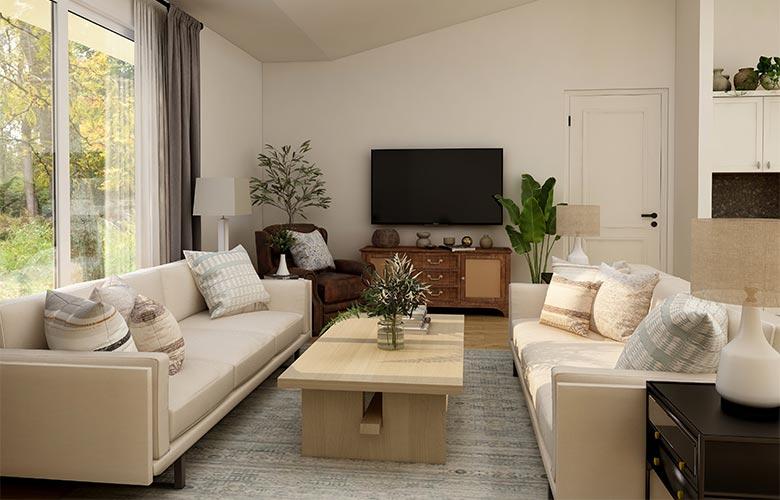 Sala de Estar e TV Integradas | westwing.com.br