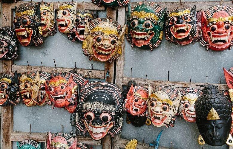 Máscaras da Indonésia   westwing.com.br