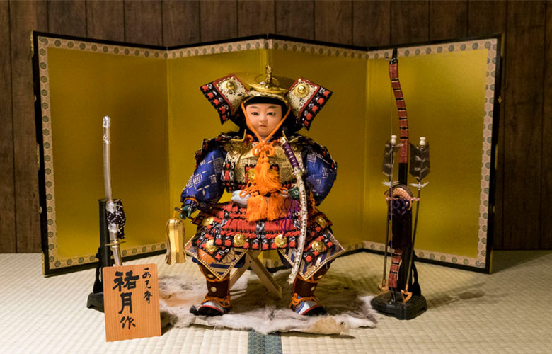 Boneco Samurai   westwing.com.br