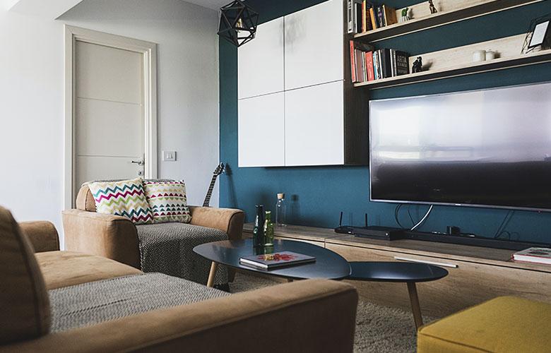 Sala de TV para Apartamento   westwing.com.br