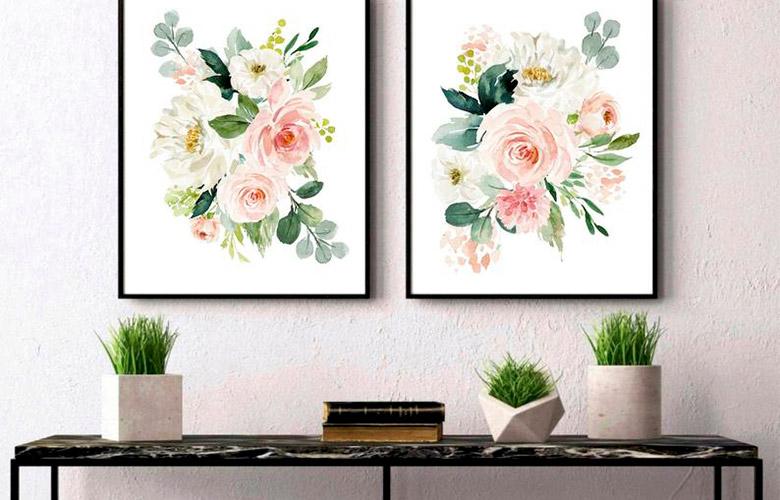 Quadros de Flores   westwing.com.br