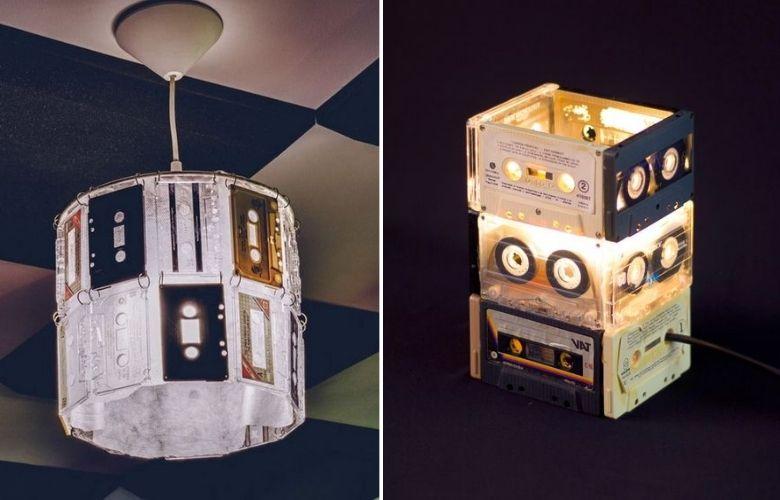 Luminária de Fita K7 | westwing.com.br