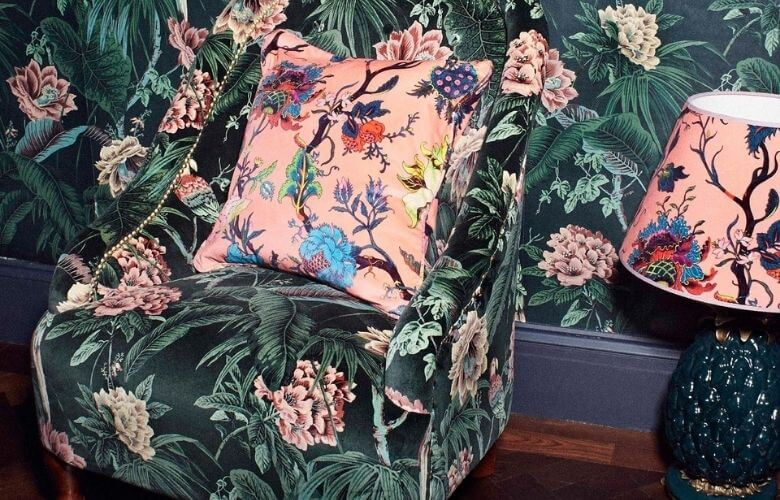 Poltrona Floral   westwing.com.br