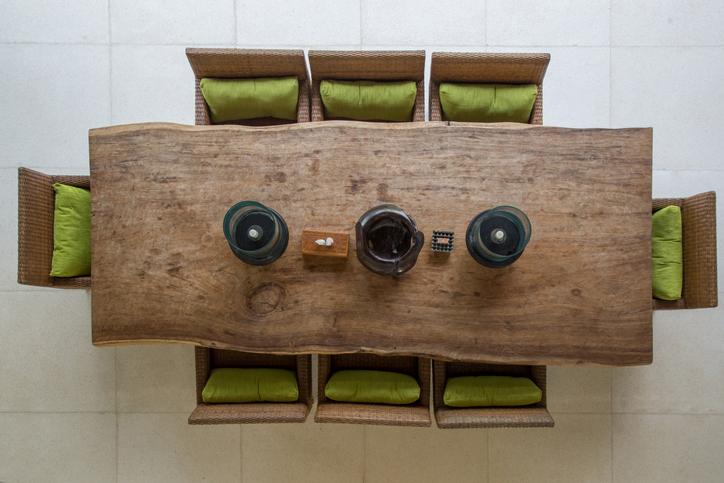 Mesa de Madeira Rústica | westwing.com.br