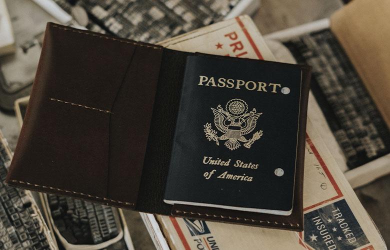 Porta-Passaporte Masculino | westwing.com.br