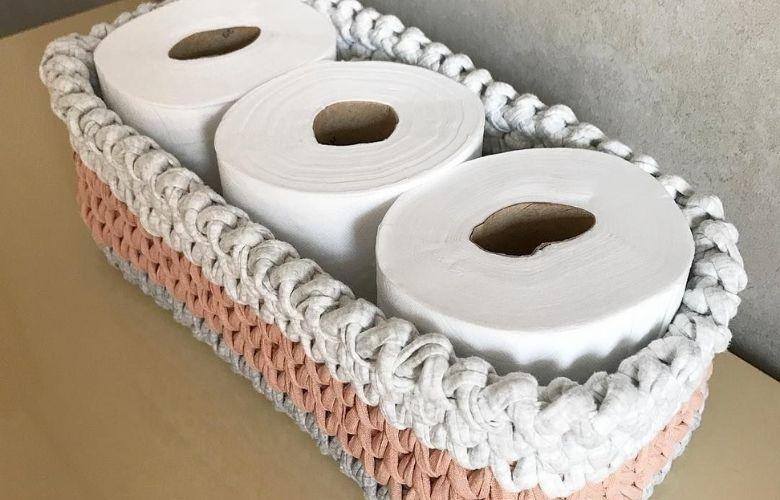 Porta-Papel Higiênico de Crochê | westwing.com.br