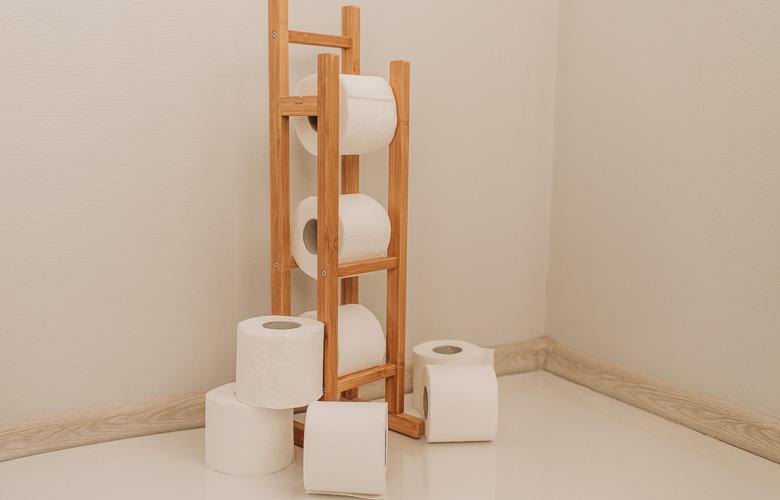 Porta-papel Higiênico de Chão Artesanal | westwing.com.br