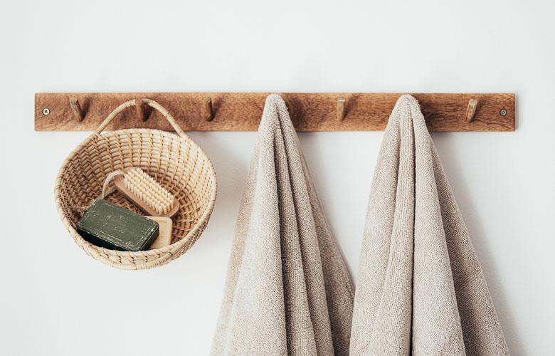 Porta-toalha de Madeira | westwing.com.br