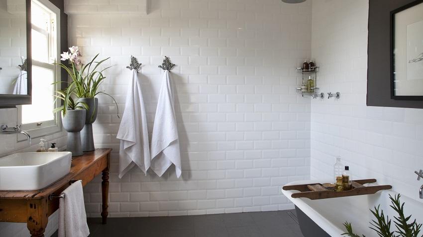 Kit porta toalha de banheiro banho com luxo westwing for Banos antiguos decoracion