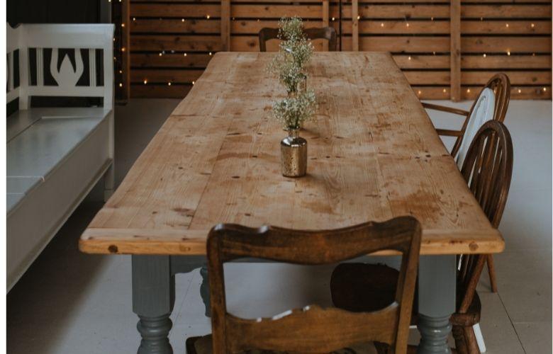 Mesa de Madeira para Churrasqueira   westwing.com.br