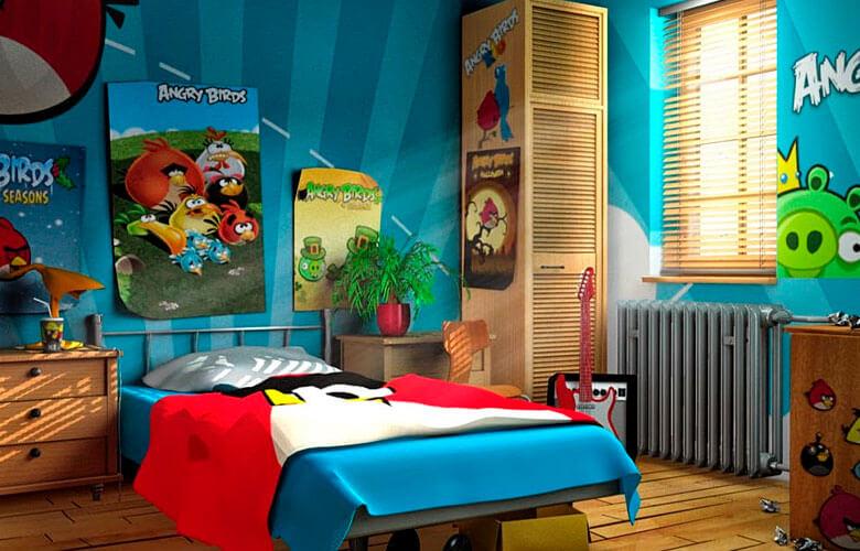 Decoração Angry Birds | westwing.com.br