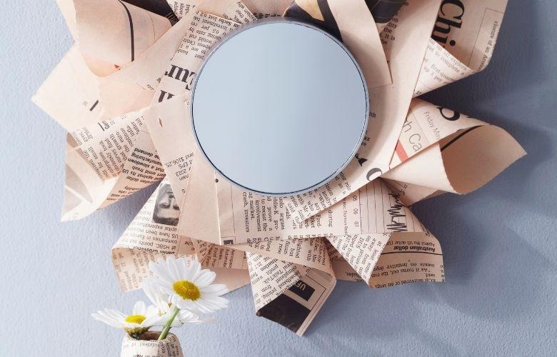 Artesanato com Jornal   westwing.com.br