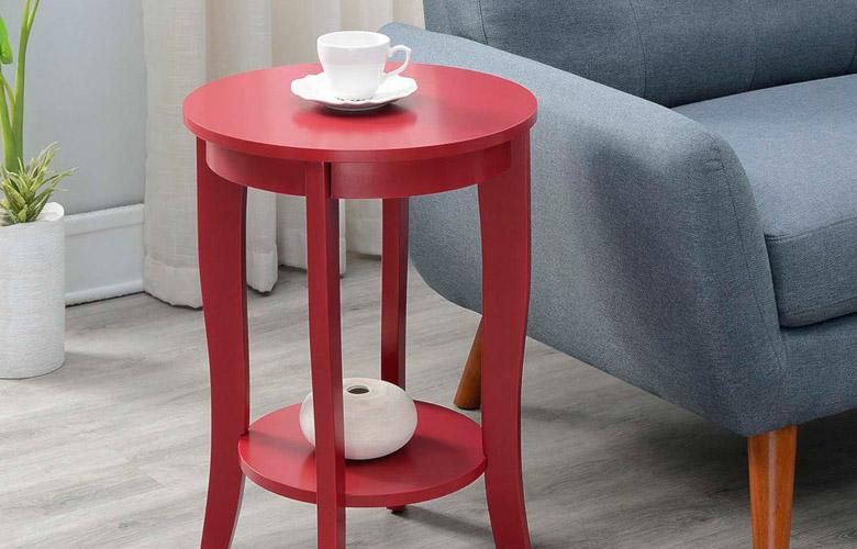 Mesa Lateral Vermelha | westwing.com.br
