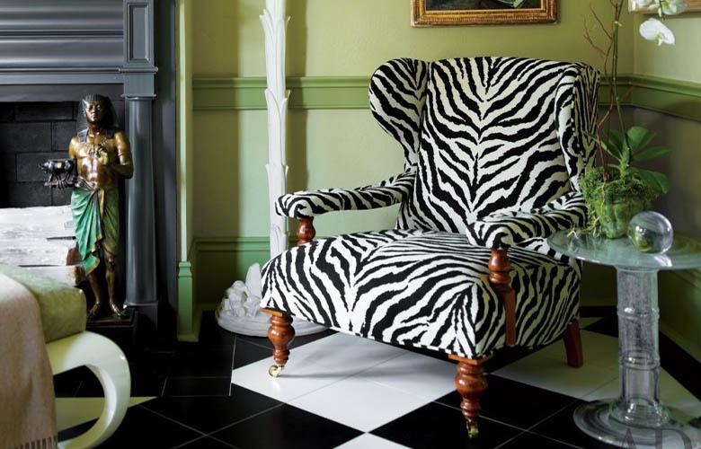 Poltrona de Zebra | westwing.com.br