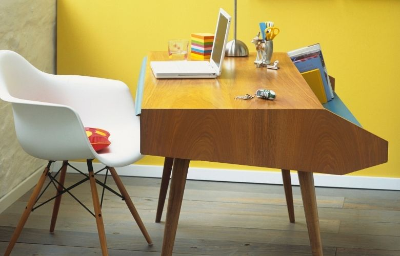 Escrivaninha de Madeira   westwing.com.br