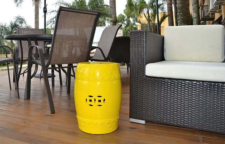 Garden Seat Amarelo | westwing.com.br