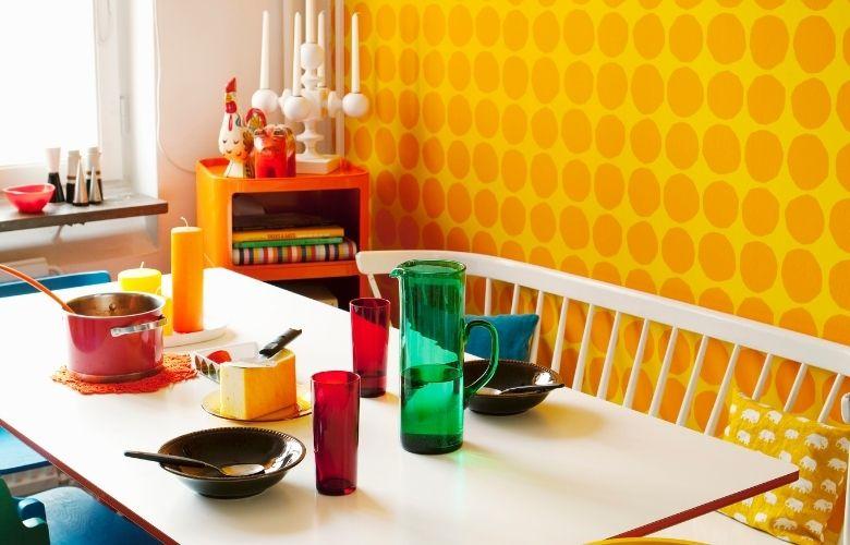 Papel de Parede Amarelo   westwing.com.br