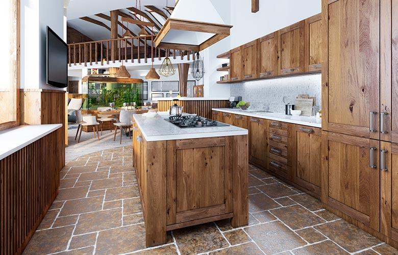 Ilha de Cozinha Rústica | westwing.com.br