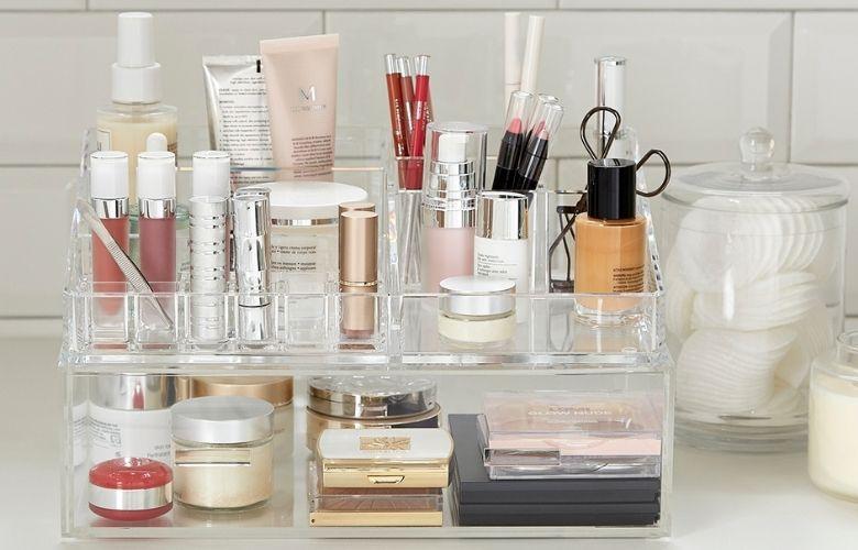 Caixa de Maquiagem de Acrílico | westwing.com.br