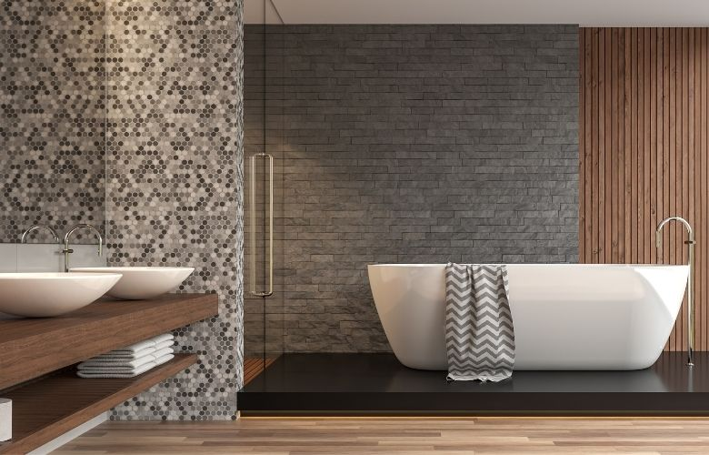 Banheiro Cinza   westwing.com.br