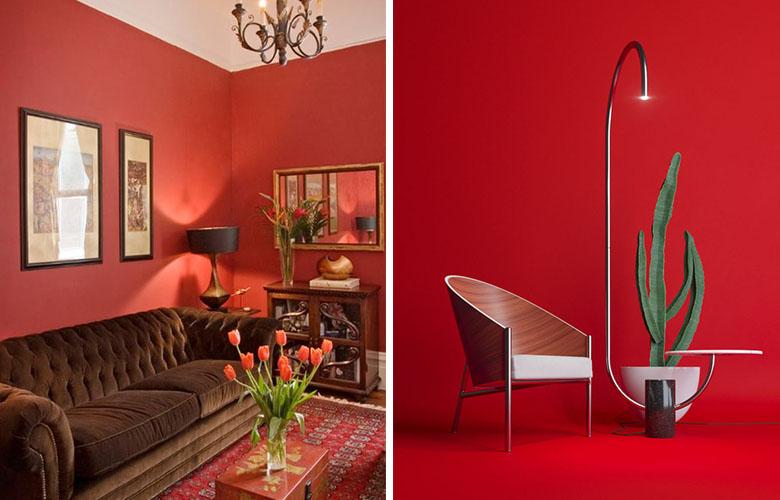 Sala de Estar Vermelha   westwing.com.br