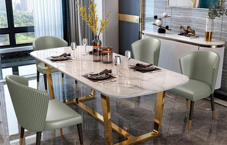 Mesa de Jantar de Granito | westwing.com.br