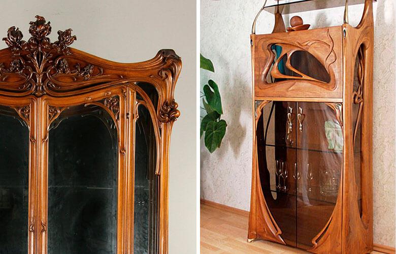Cristaleira Art Nouveau | westwing.com.br