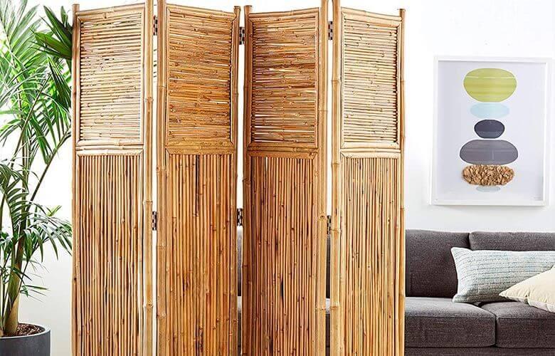 Biombo de Bambu   westwing.com.br