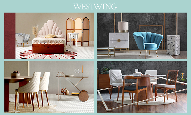 Mesa Lateral Azul | westwing.com.br