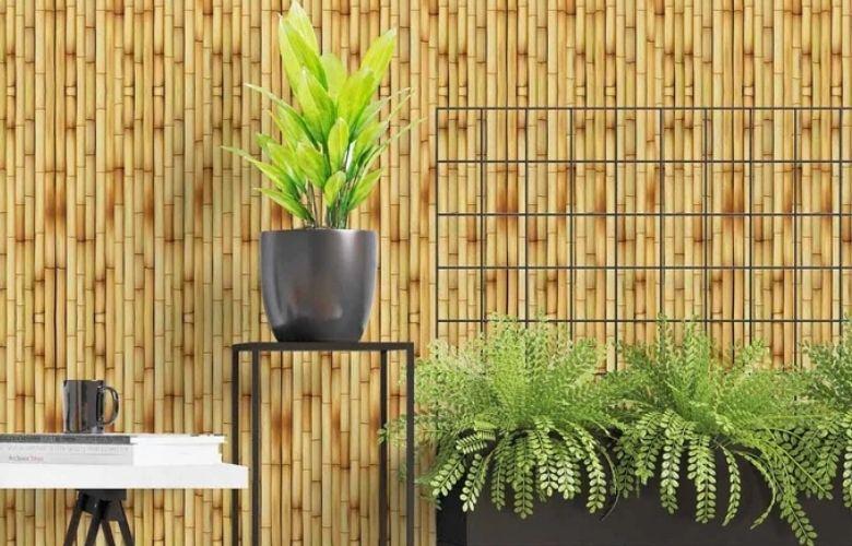 Papel de Parede de Bambu | westwing.com.br