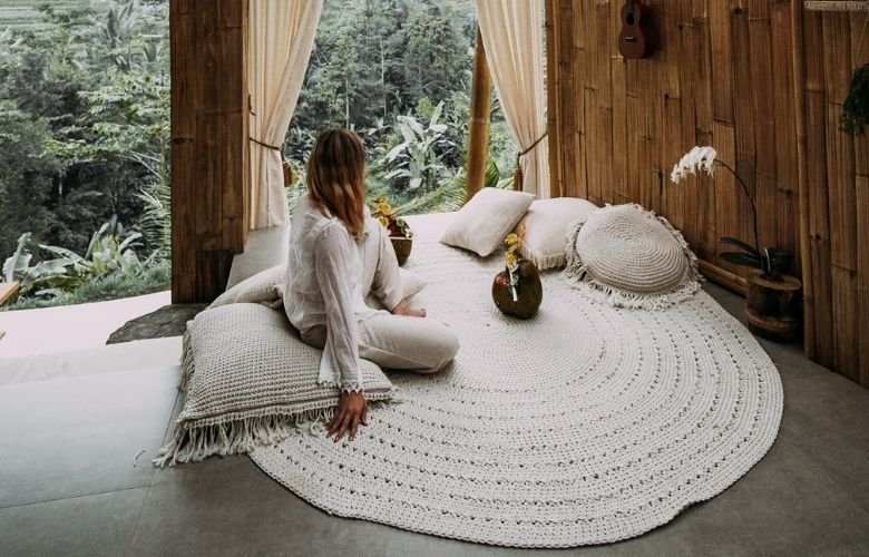 Tapete de Crochê Branco | westwing.com.br