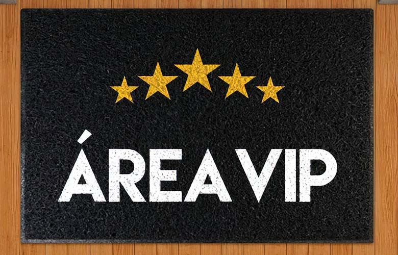 Capacho Área VIP   westwing.com.br