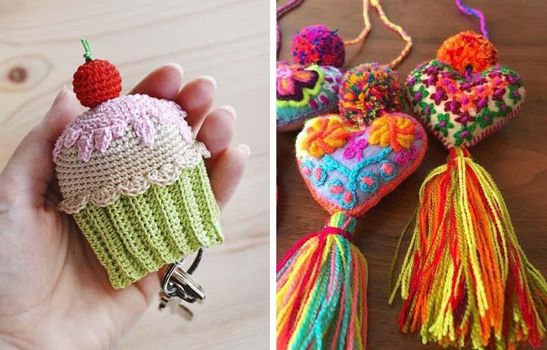 Chaveiro de Crochê   westwing.com.br
