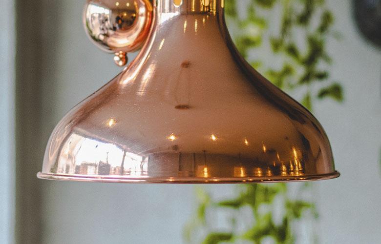 Luminária de Cobre | westwing.com.br
