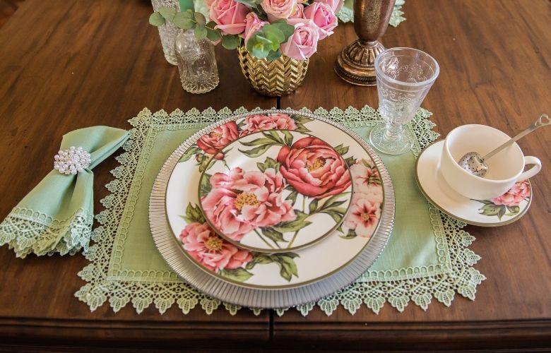 Jogo Americano Floral   westwing.com.br