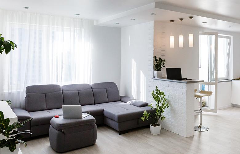 Gesso para Apartamento Pequeno | westwing.com.br