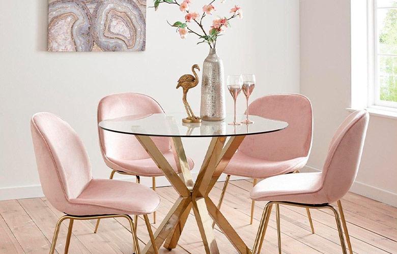 Mesa de jantar de vidro   westwing.com.br