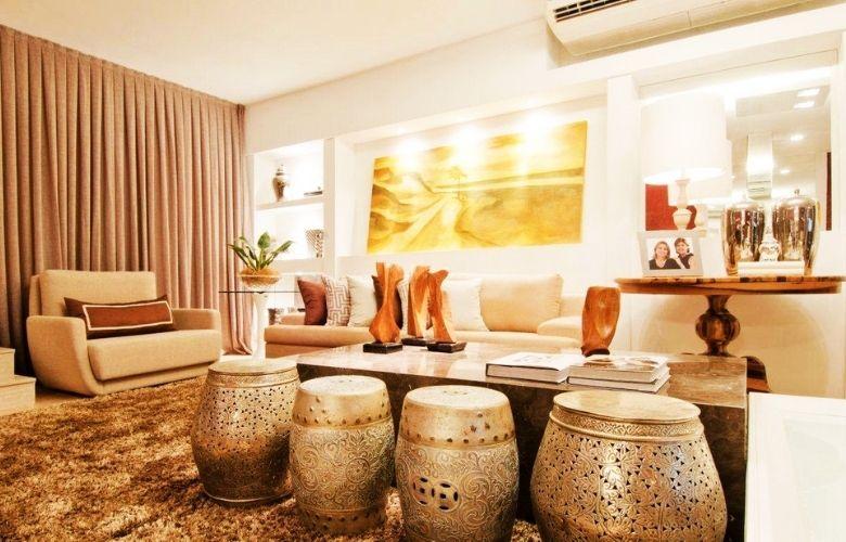 Banco Dourado   westwing.com.br