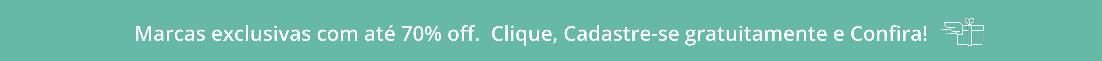 banner grandes marcas com texto e fundo verde - westwing.com.br