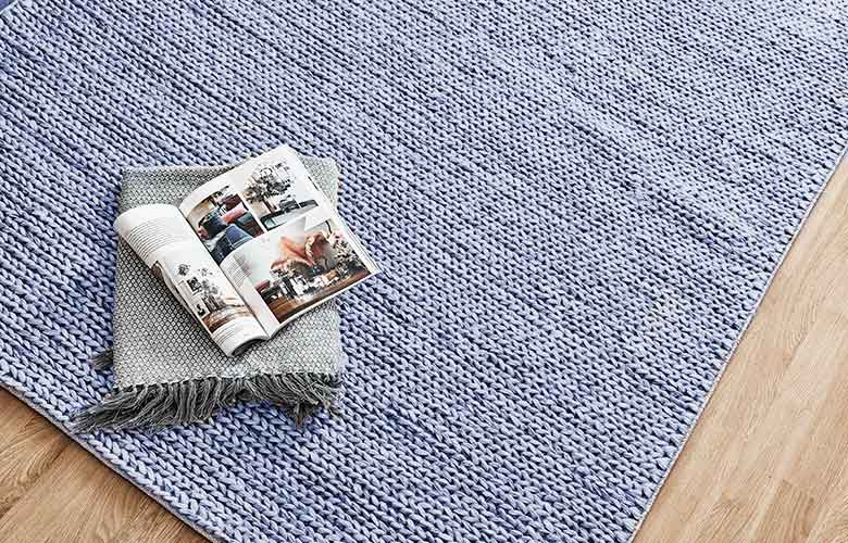 Tapete de Crochê Azul   westwing.com.br