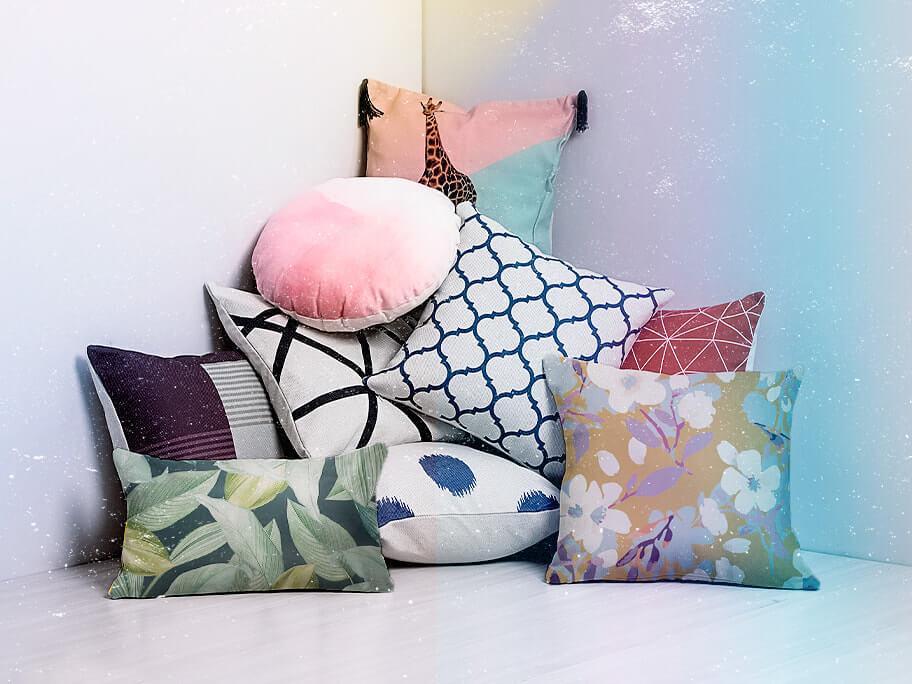 Almofadas: lisas, coloridas ou estampadas | westwing.com.br