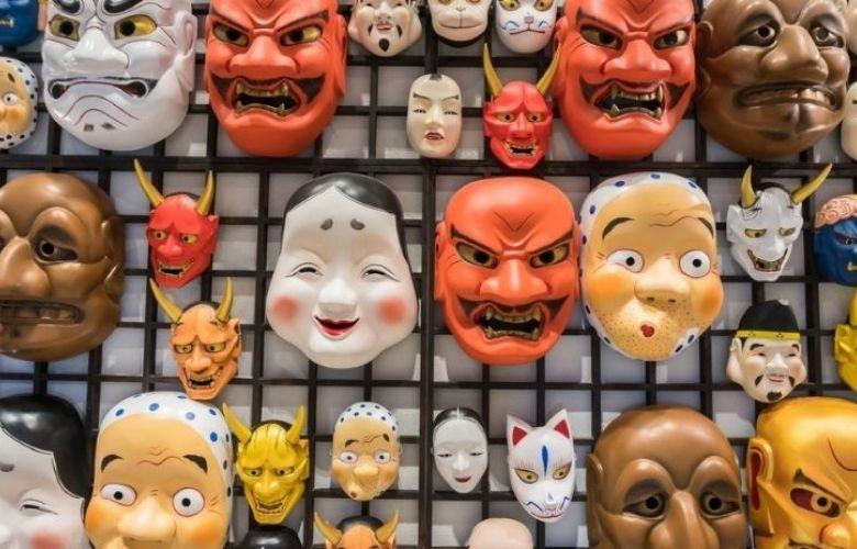 Máscaras Japonesas | westwing.com.br
